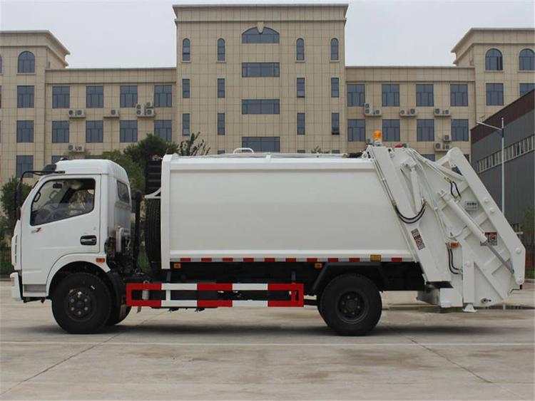 东风压缩垃圾车12吨压缩垃圾车图片
