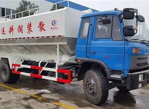 东风153散装饲料运输车