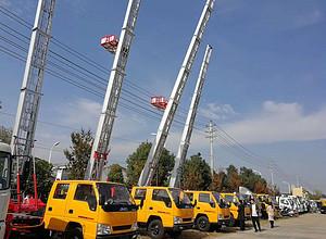 江铃28米云梯高空作业车