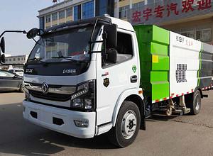 国六东风8吨吸尘车