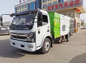 国六 东风 凯普特 8方 吸尘车