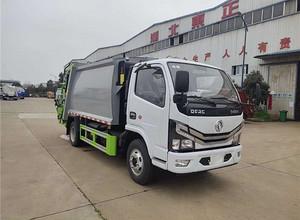 国六   东风多利卡  挂桶垃圾车(自装卸式垃圾车)
