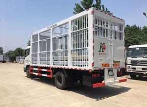 东风天锦 (拉猪车) 畜禽运输车图片