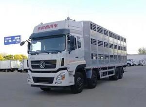 东风天龙 (拉猪车) 畜禽运输车图片