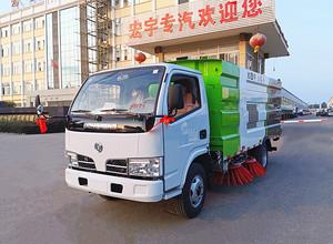 东风 福瑞卡 5吨 扫路车