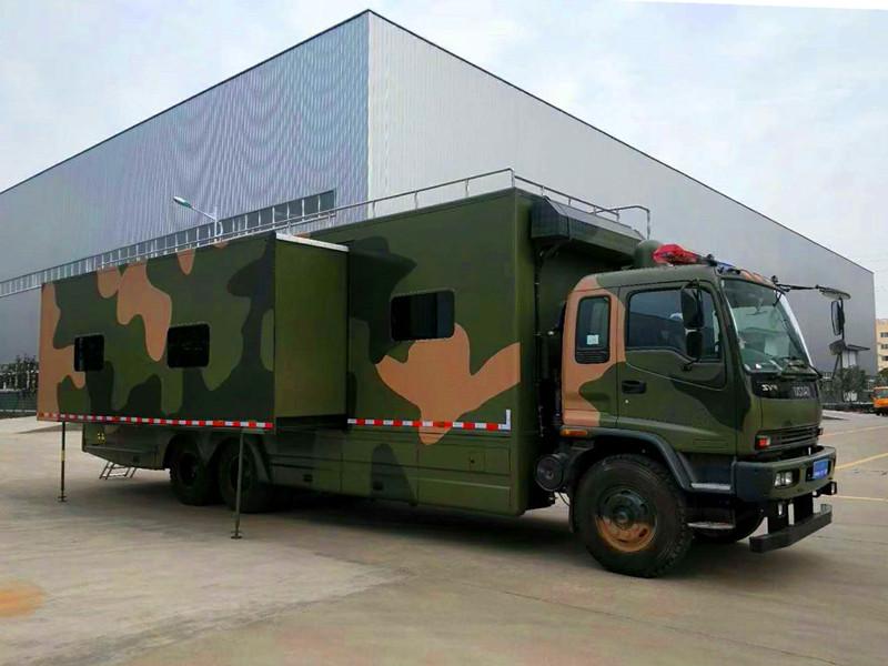 五十铃 大型 军用 警用 民用 宿营车