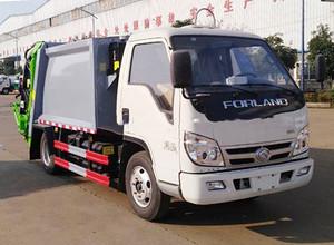国六  福田时代小卡之星  蓝牌  4方  压缩式垃圾车