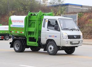 国六  时风风菱  2方 蓝牌  挂桶式垃圾车