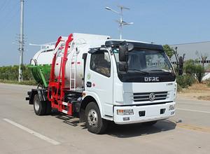国六  东风D7  6方  餐厨垃圾车(泔水车)