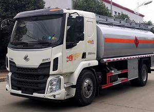 柳汽乘龙15吨铝合金油罐车 运油车 罐车