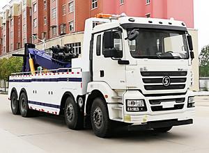 陕汽德龙前四后八25-30吨托吊联体型清障车 救援车 拖车