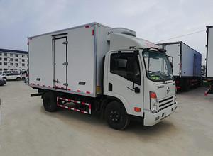 国六大运4.2米冷藏车图片