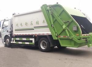 东风  纯电动  压缩垃圾车图片