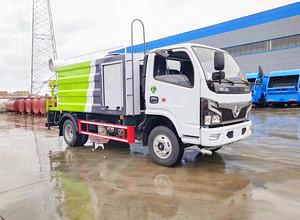 国六东风多利卡5吨-15吨洒水抑尘车厂家报价