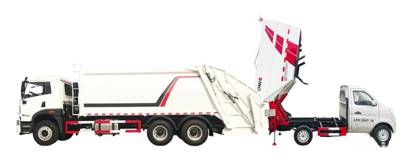 压缩垃圾车具体装载量以及与其他垃圾车对比