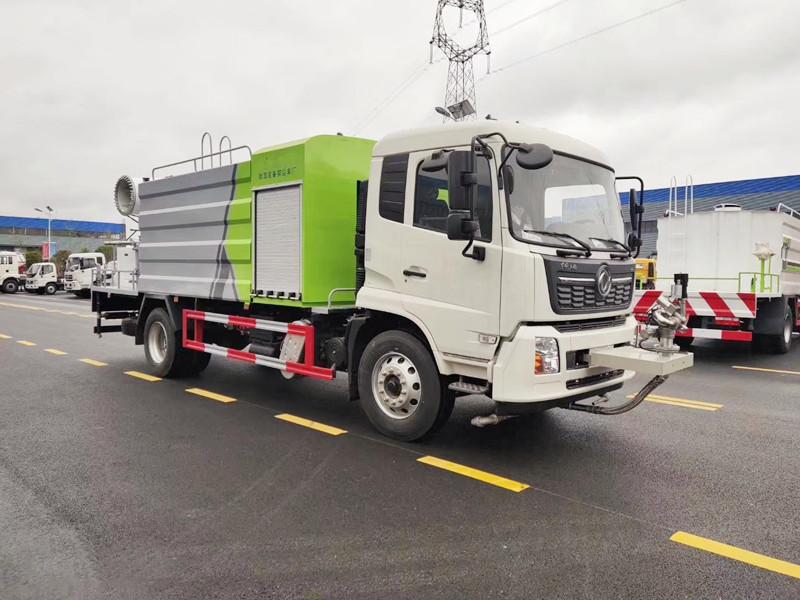 国六东风天锦12吨抑尘车