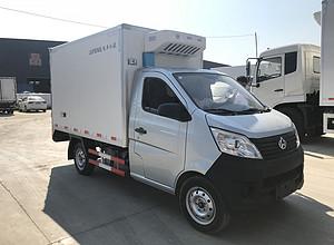 国六长安小型冷藏车-小型冷藏车报价