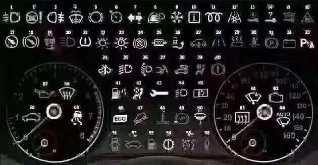 湖北宏宇专汽为您普及清障救援拖车仪表盘上的显示灯都是干什么用的