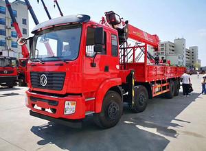 东风锦程前四后八徐工16吨五节臂随车吊,河北省客户试车中!