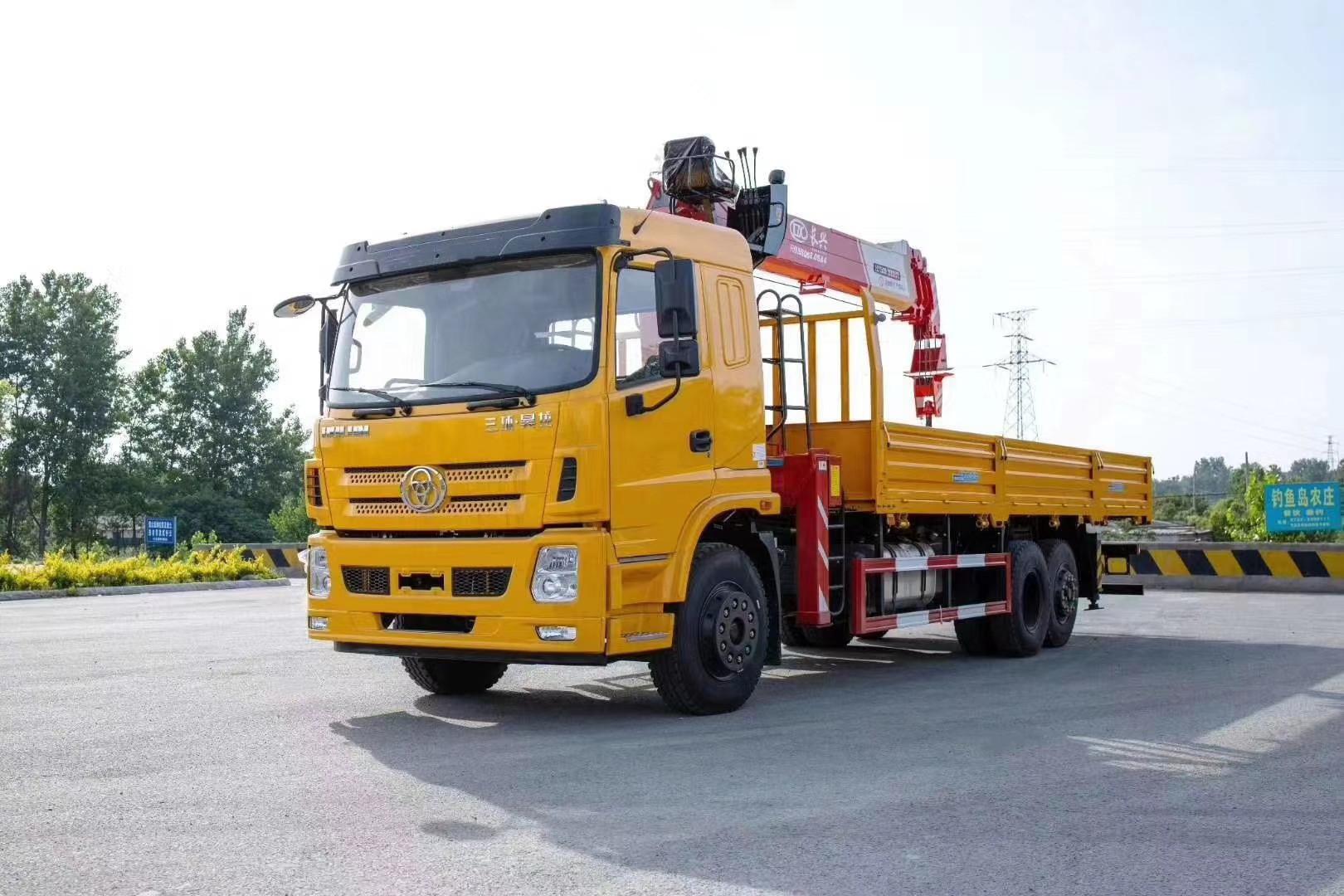 河北省2吨-16吨随车吊零部件的正确清洗方法
