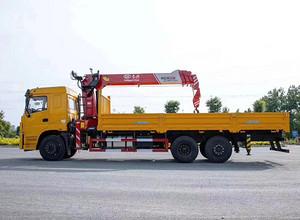 三环昊龙长兴8吨四节臂随车吊(货箱7.1米)图片