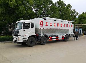 东风天锦15吨散装饲料车