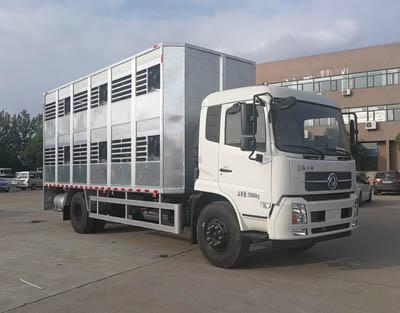 聚尘王牌HNY5180CCQD5型畜禽运输车1