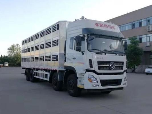 东风天龙畜禽运输车(拉猪车)