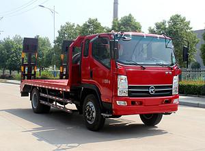 凯马10-15吨挖机平板运输车图片