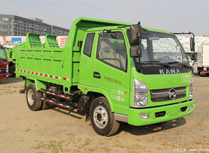 凯马自卸式垃圾车图片