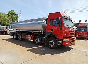 解放前四后六25方供液车、普货小四桥减水剂运输车、悍V20吨润滑油运输车