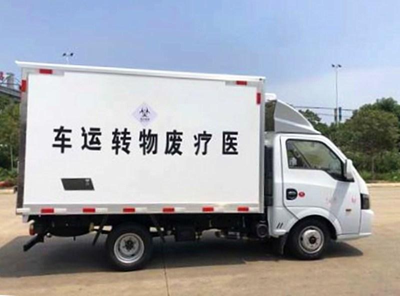 国六东风逸途运输车右侧图