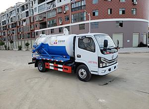 东风多利卡D6吸污车(北京环保)