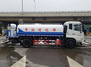 东风天锦VR15吨雾炮洒水车图片