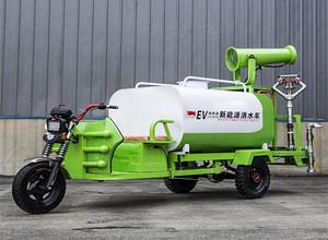 新能源纯电动三轮雾炮洒水车图片