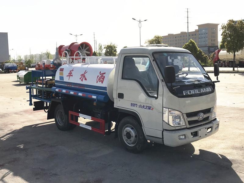 福田2吨3吨4吨5吨不上户洒水车简介(出口洒水车)
