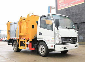 凯马5方自装卸式垃圾车