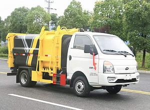 凯马蓝牌自装卸式垃圾车