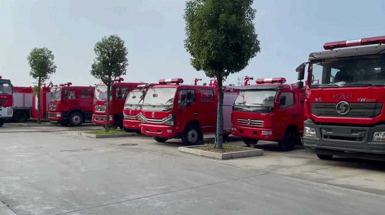 消防车、消防洒水车、救援车、宿营车
