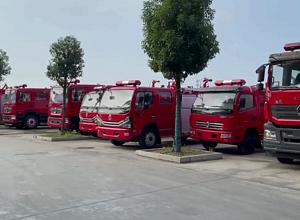 消防車、消防灑水車、救援車、宿營車