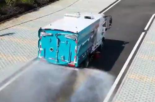 东风多利卡D6洗扫车-清扫车