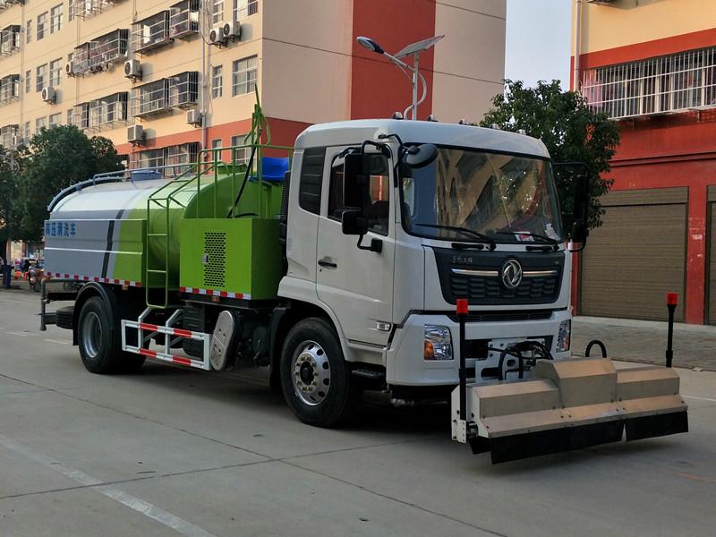 东风天锦路面养护车_高压清洗车