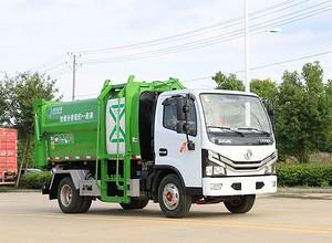 东风多利卡餐厨垃圾车视频图片
