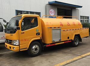 东风小多利卡5吨高压清洗车